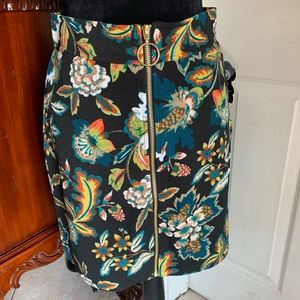 Floral mini skirt from I.N.C